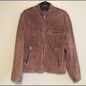 Men's Gap suede jacket.